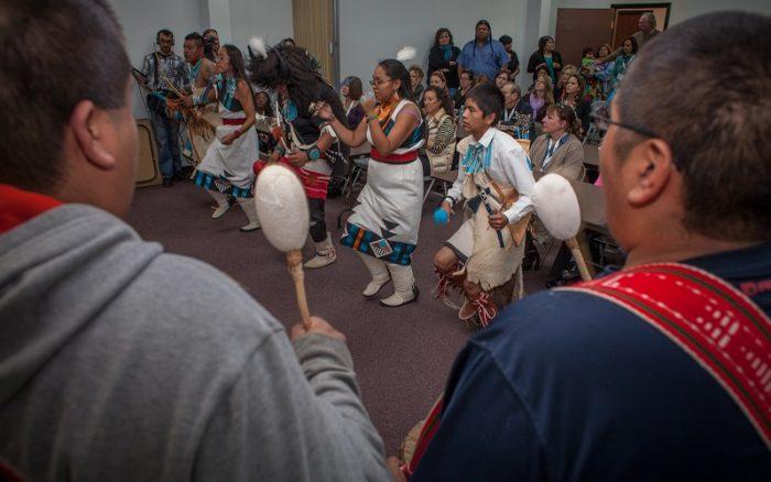 Zuni dancing