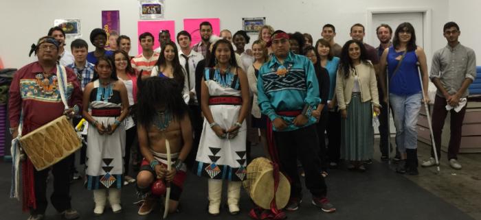 Zuni tribe members